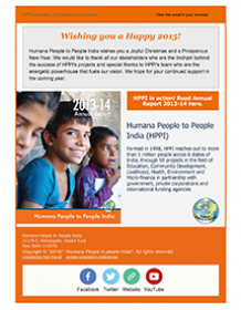 Annual Report Newsletter 2014