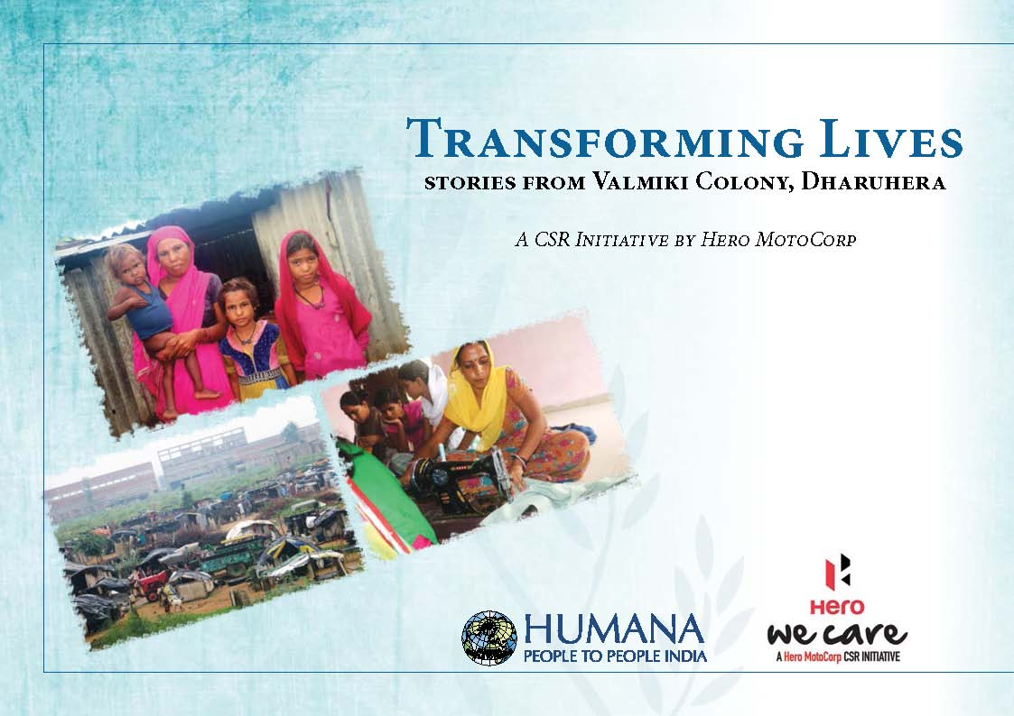 Transforming Lives Stories from Valmiki colony Dharuhera