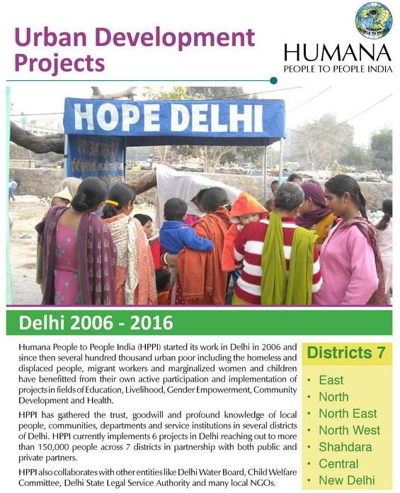 Urban Community Development Report - DELHI