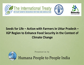 SEEDS FOR LIFE - Food Security and Climate Change in Uttar Pradesh