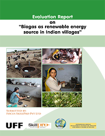 Report Evaluation Biogas Indian Villages